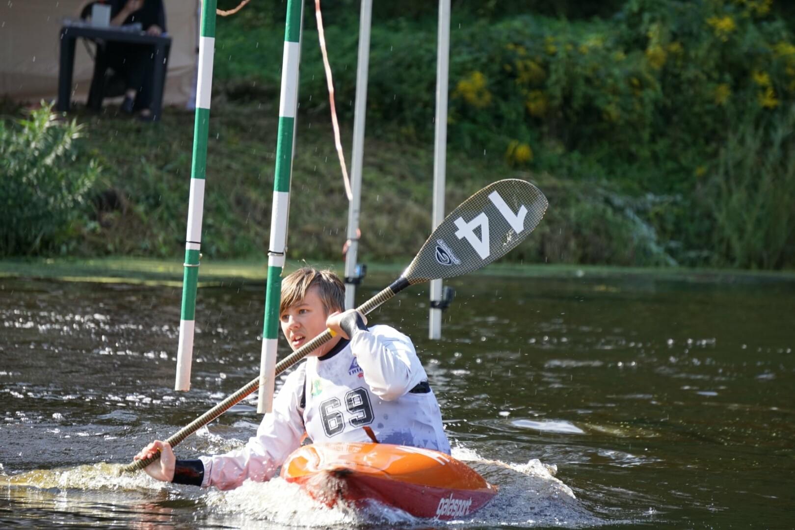 Airēšanas slaloms
