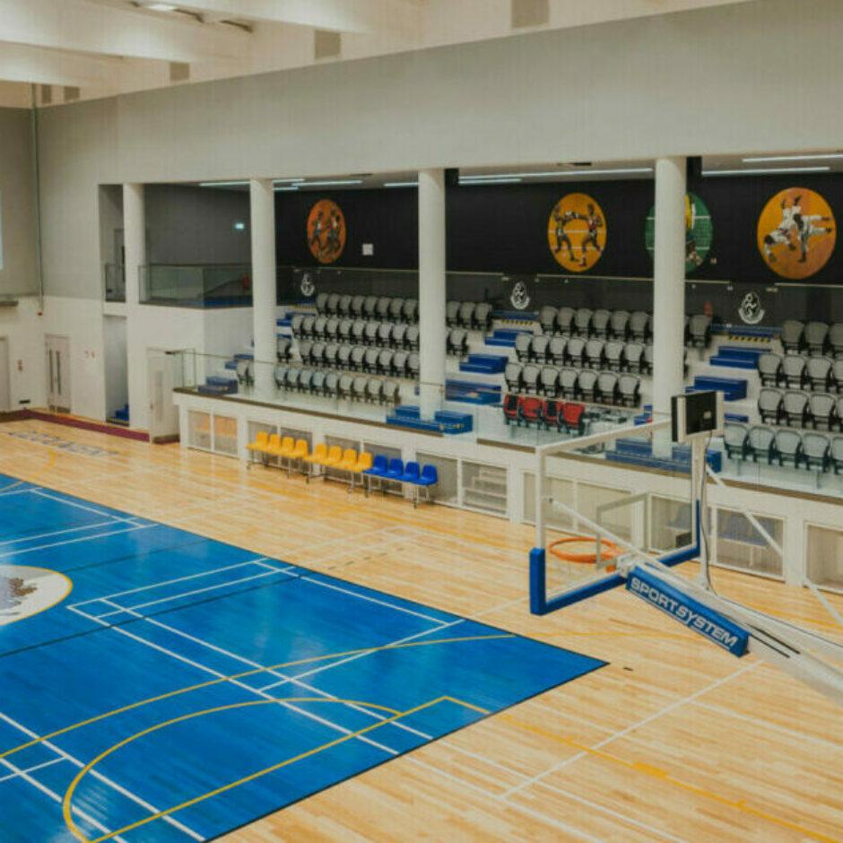 Ozolnieku sporta skolas zāle